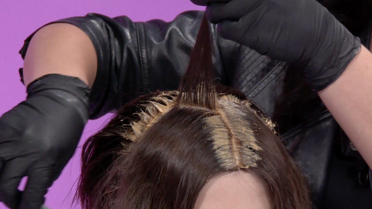 The Best Color Service First Time Hair Color Application By Kadus Pictures