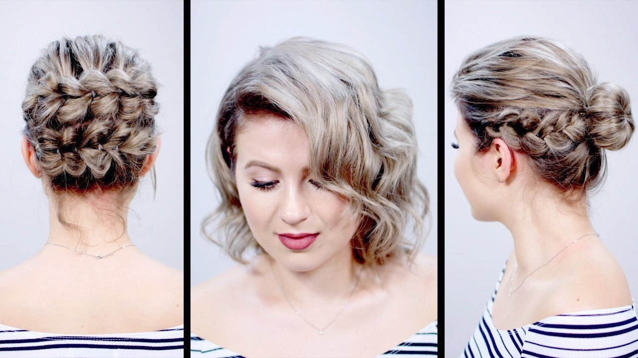 The Best Valentine S Day Inspired Short Hairstyles Tutorial Pictures