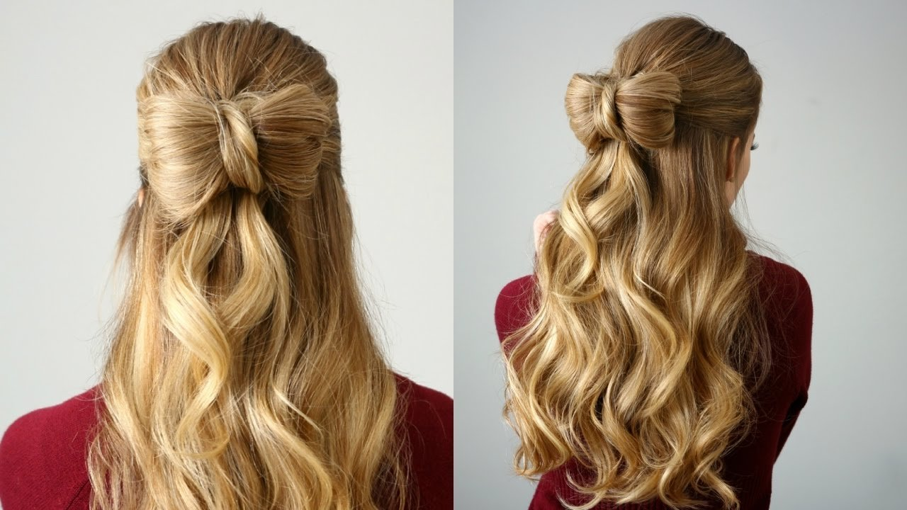 The Best Half Up Hair Bow Missy Sue Youtube Pictures