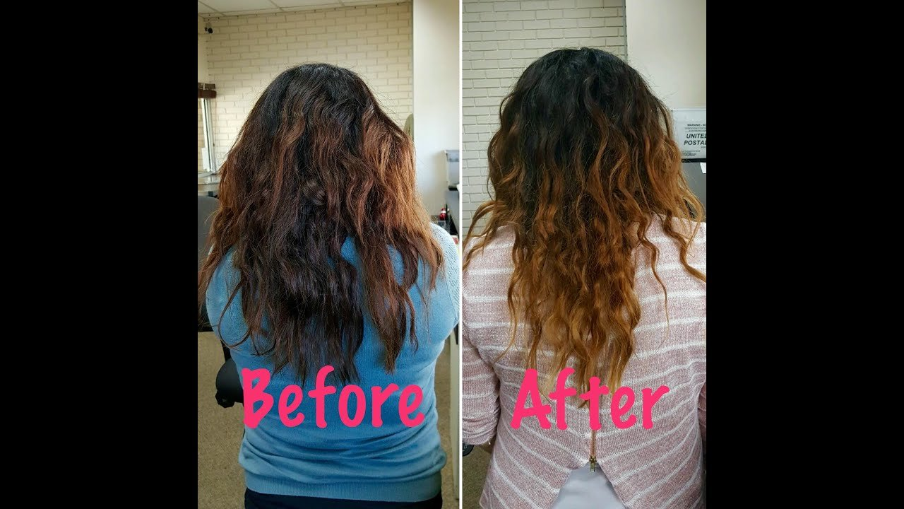 The Best Curly Hair Routine For Type 2B 2C Hair Youtube Pictures