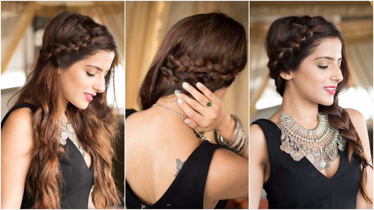 The Best 3 Party Hairstyles How To Cute Easy Braid Hairstyles Pictures