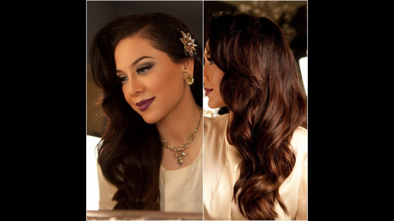 The Best 1940 S Inspired Hair Tutorial Old Hollywood Glamour Pictures
