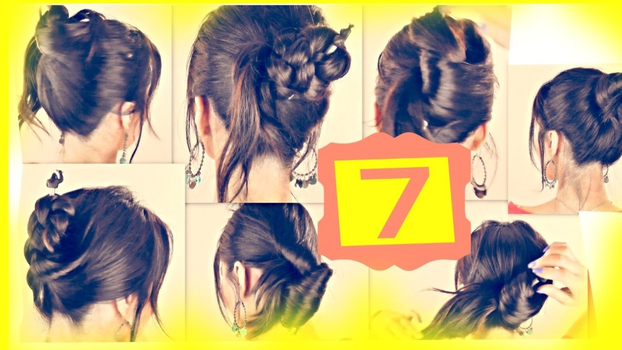 The Best Seven ★ 1 Minute Hairstyles With Just A Pencil Easy Updo Pictures Original 1024 x 768