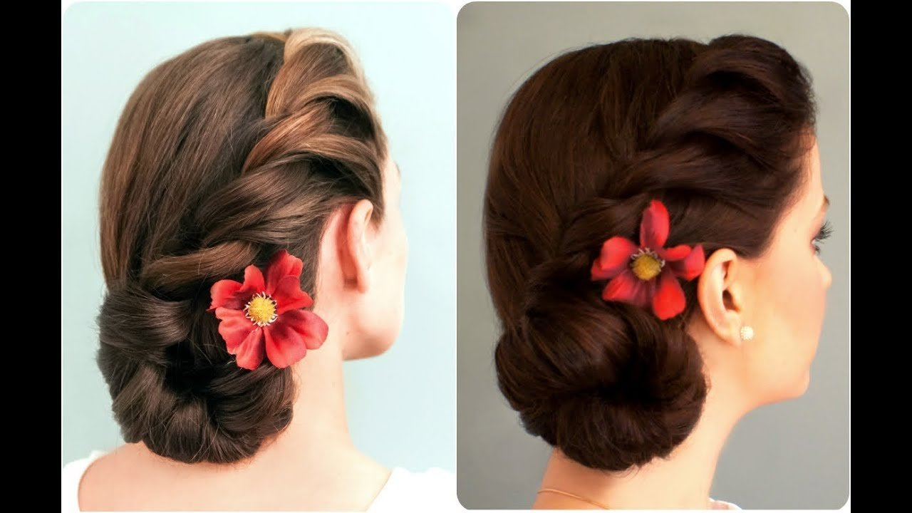 The Best Rope Braided Side Bun Youtube Pictures