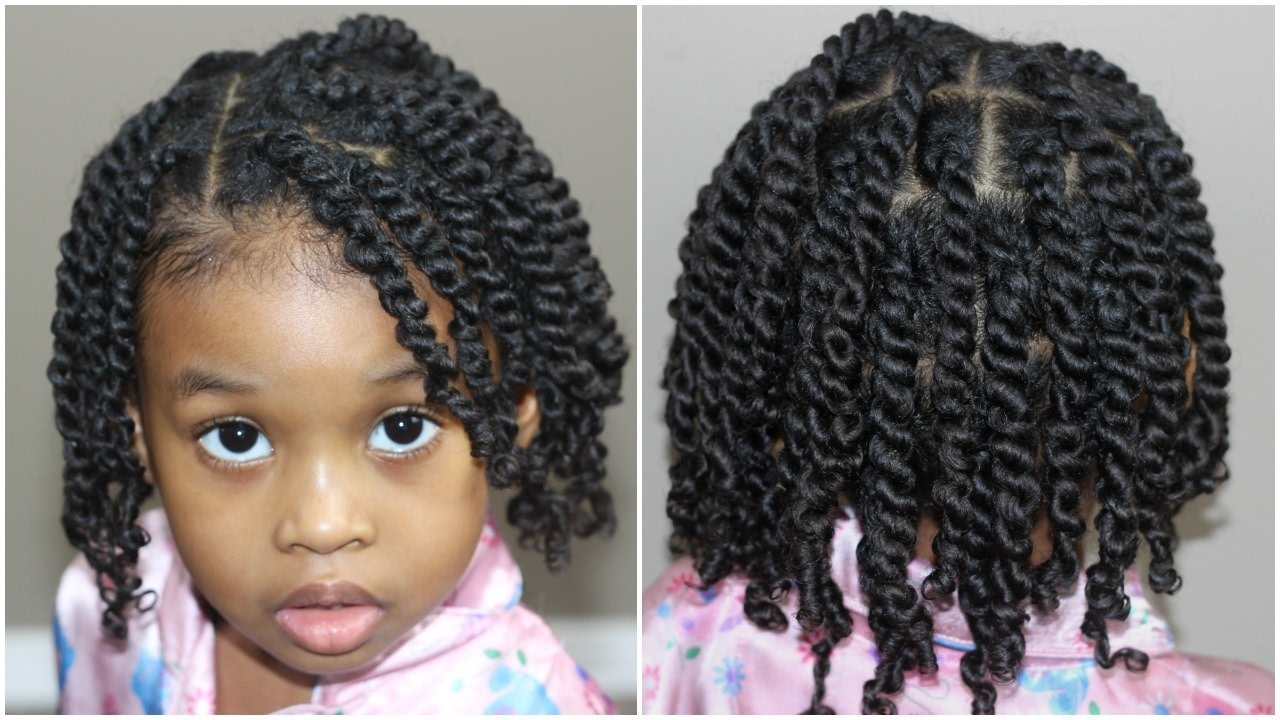 The Best Two Strand Twists For Kids Natural Hair Youtube Pictures