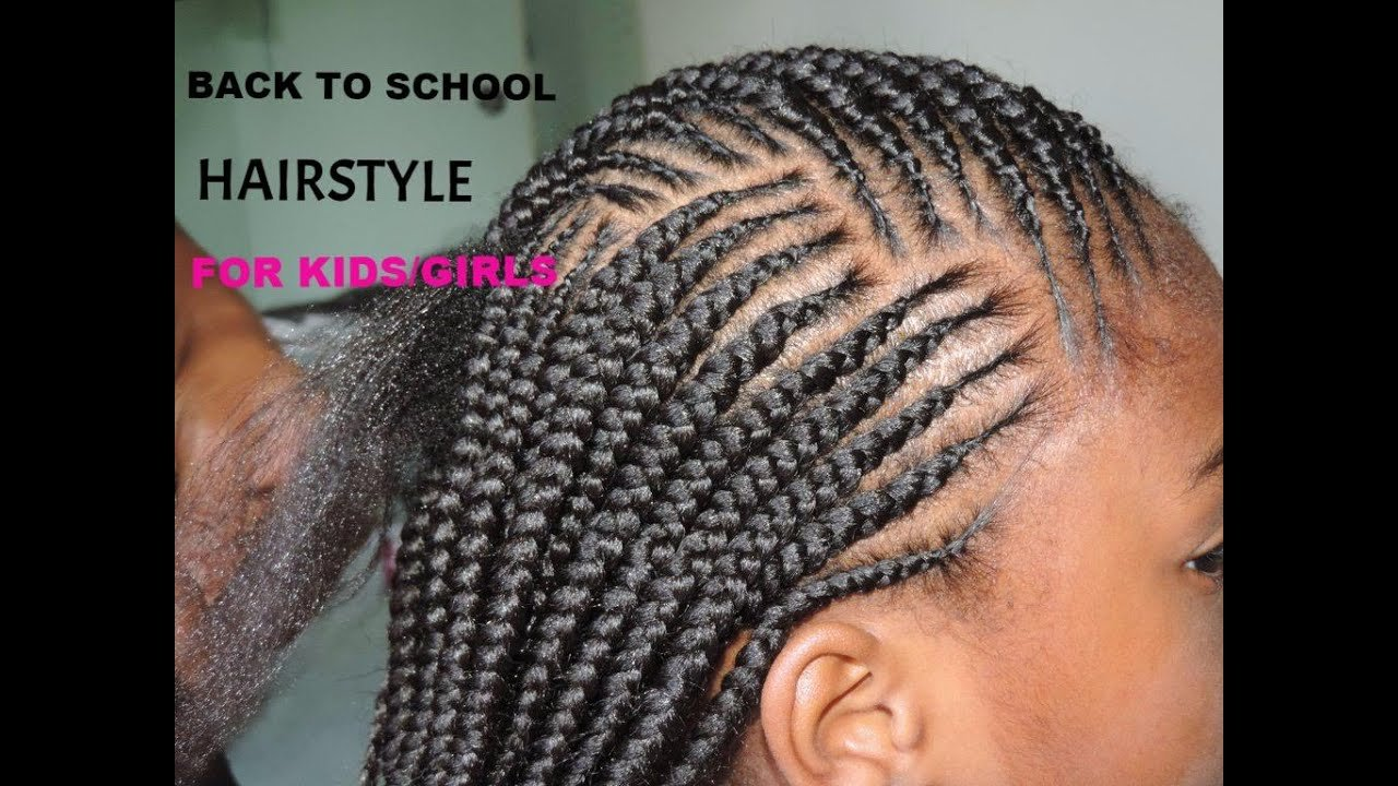 The Best Back To School Hairstyle For Kids Girls Simple And Cute Pictures