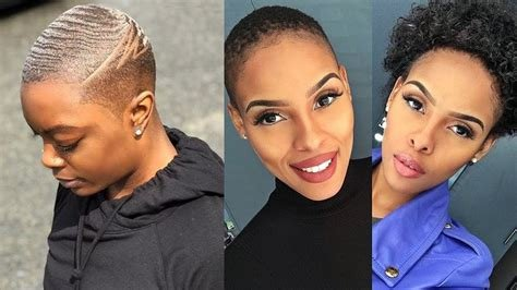 The Best Ultra Short Haircuts For Black Women 2019 Short Hair Pictures