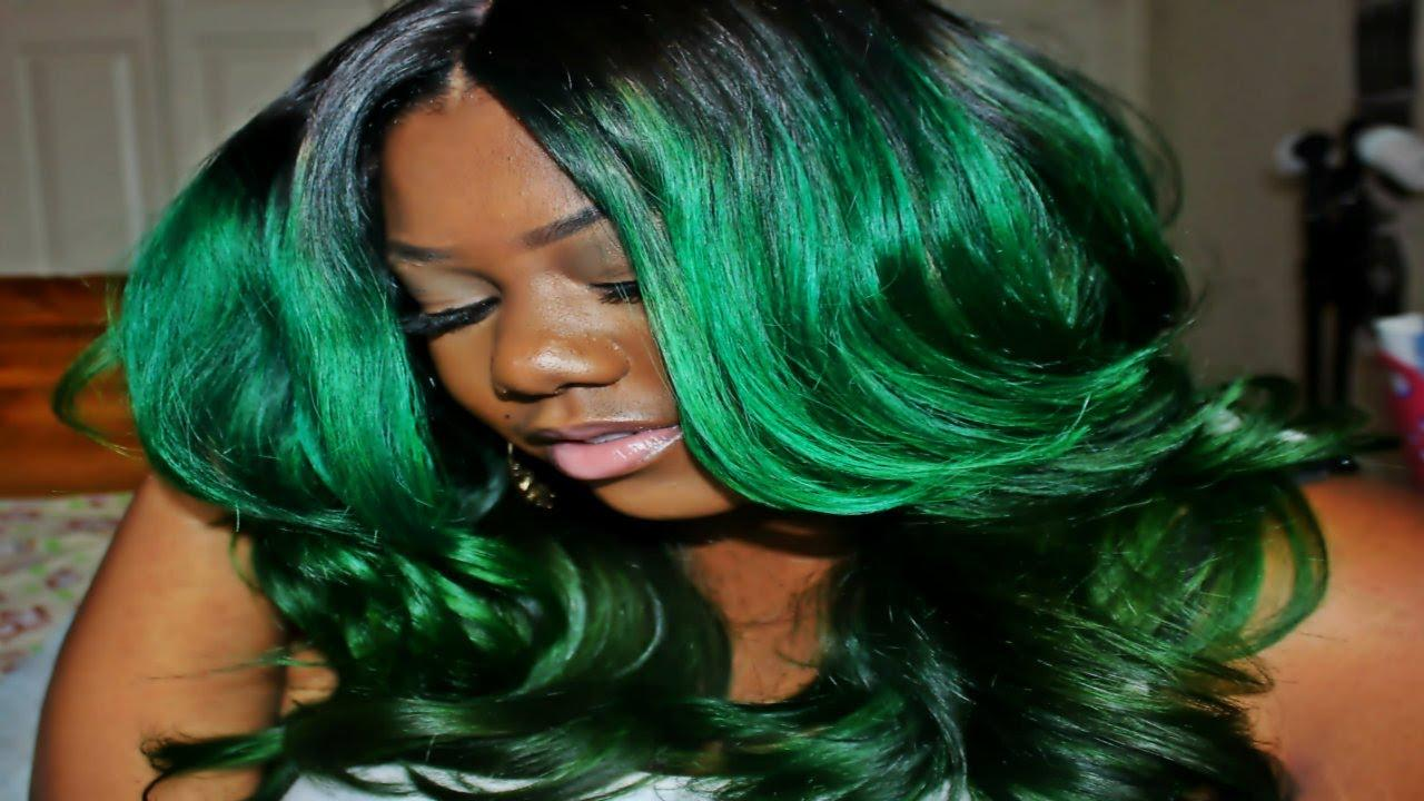 The Best Custom Green Hair Hair Coloring Adore Forest Green Pictures