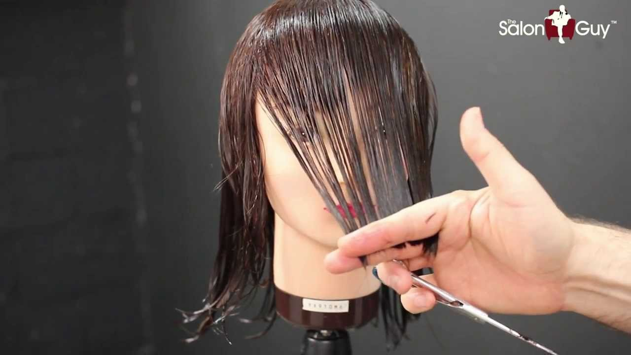 The Best Haircut Tutorial Medium Length Layers Youtube Pictures