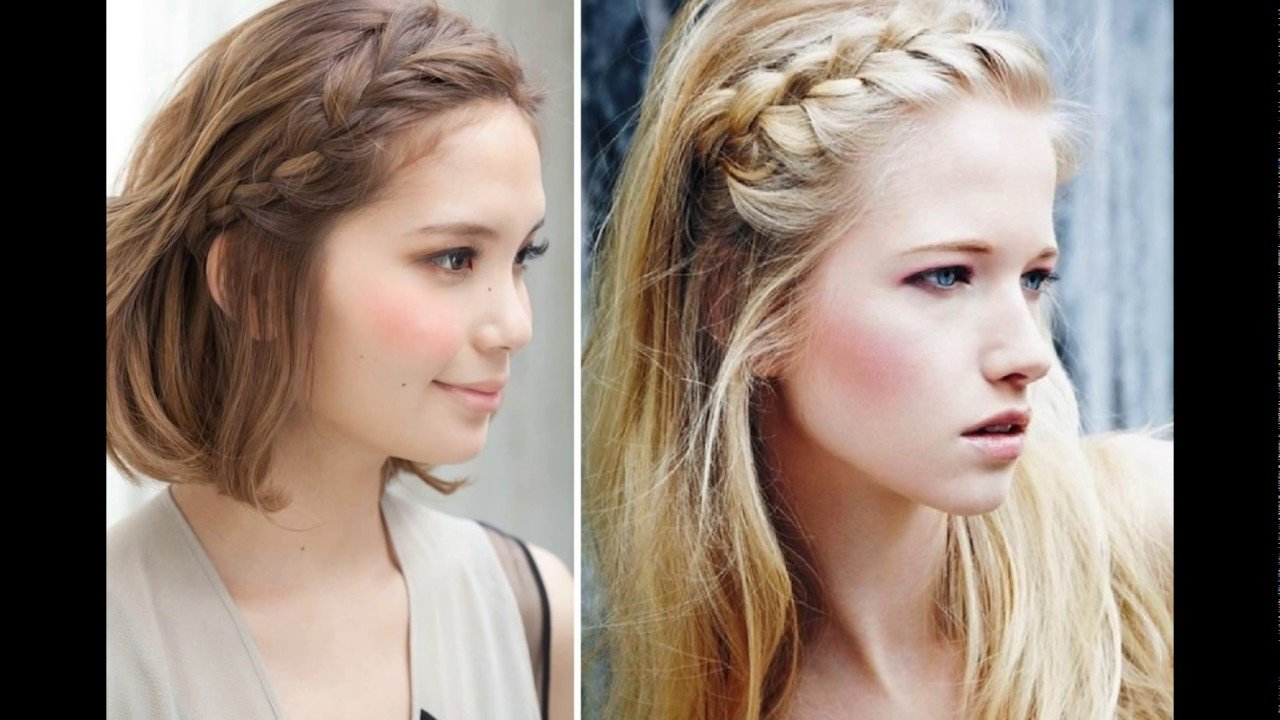 The Best Easy Front Braid Hairstyle Youtube Pictures