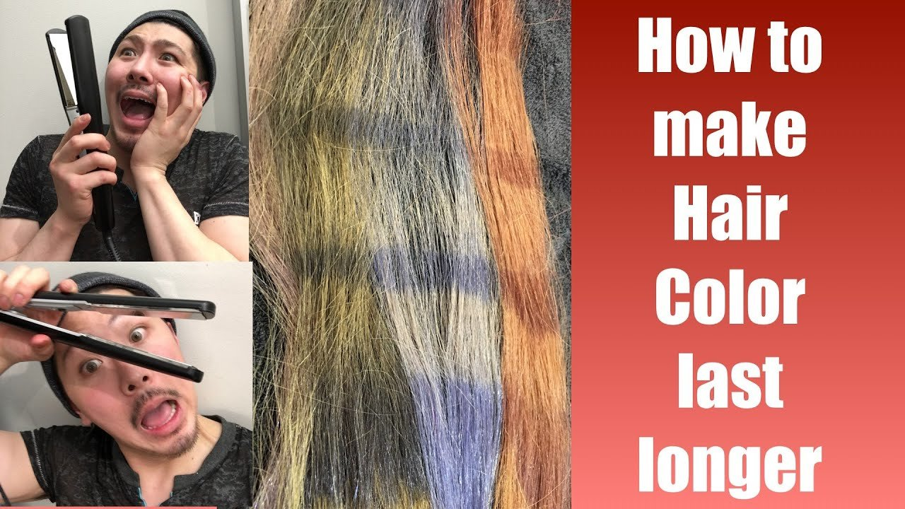 The Best How To Make Hair Color Last Longer Youtube Pictures