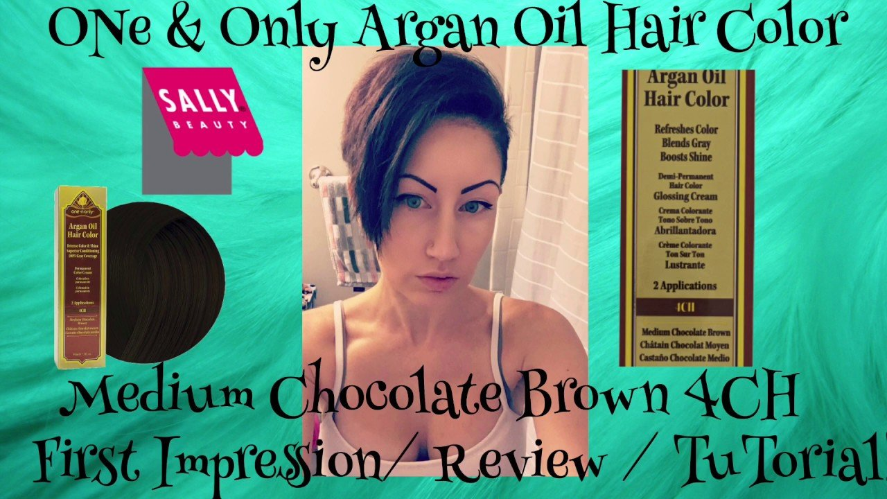 The Best One Only Argan Oil Hair Color Medium Chocolate Brown Pictures