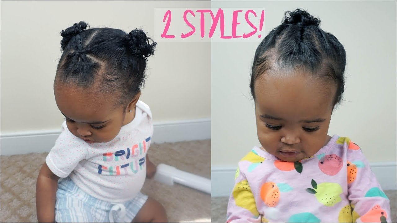 The Best 2 Cute And Easy Hairstyles For Baby Girls Zara's 1St Pictures