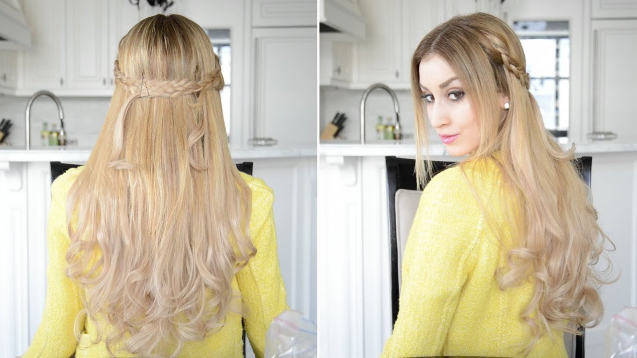 The Best Dutch Braided Half Up Half Down Hairstyle Fancy Hair Pictures