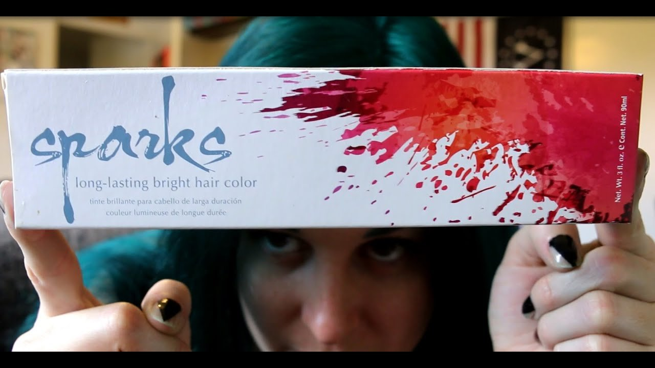 The Best Review Sparks Green Envy Long Lasting Hair Dye Youtube Pictures