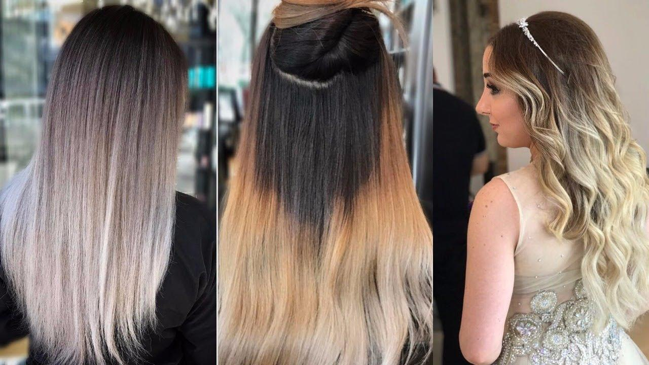 The Best Top 10 Most Popular Women S Hair Color Trends 2018 Youtube Pictures