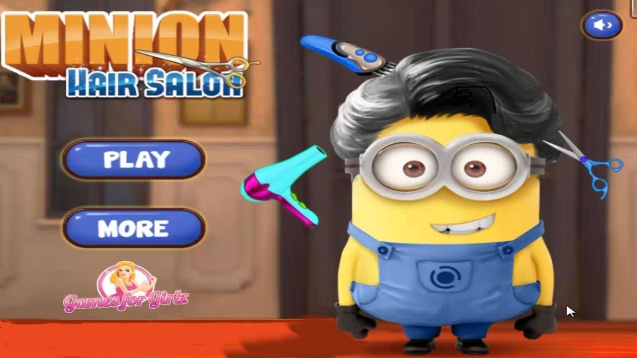The Best Game Minion At Hair Salon Funny Minion Hair Cut Youtube Pictures