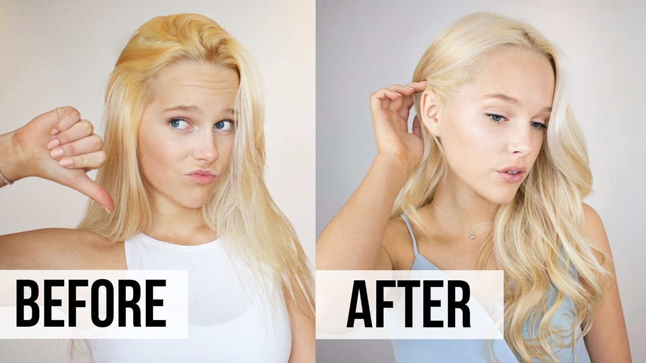 The Best How To Fix Brassy Hair At Home Toner Tutorial Youtube Pictures