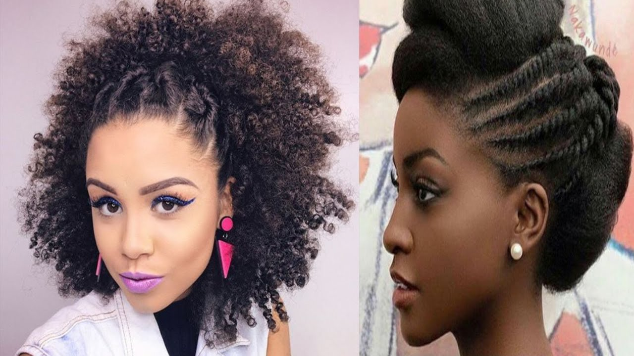 The Best African American Natural Hairstyles Simple And Nice Youtube Pictures