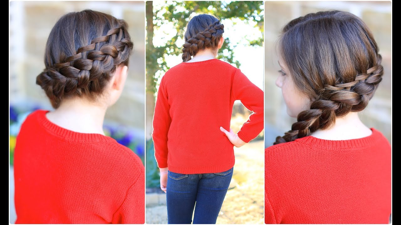 The Best Waterfall Twist Combo Cute Girls Hairstyles Youtube Pictures