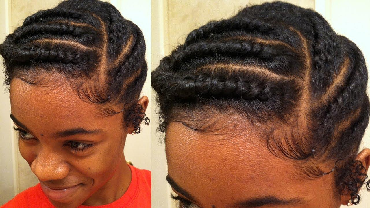 The Best Flat Twist Protective Style Natural Hair Youtube Pictures