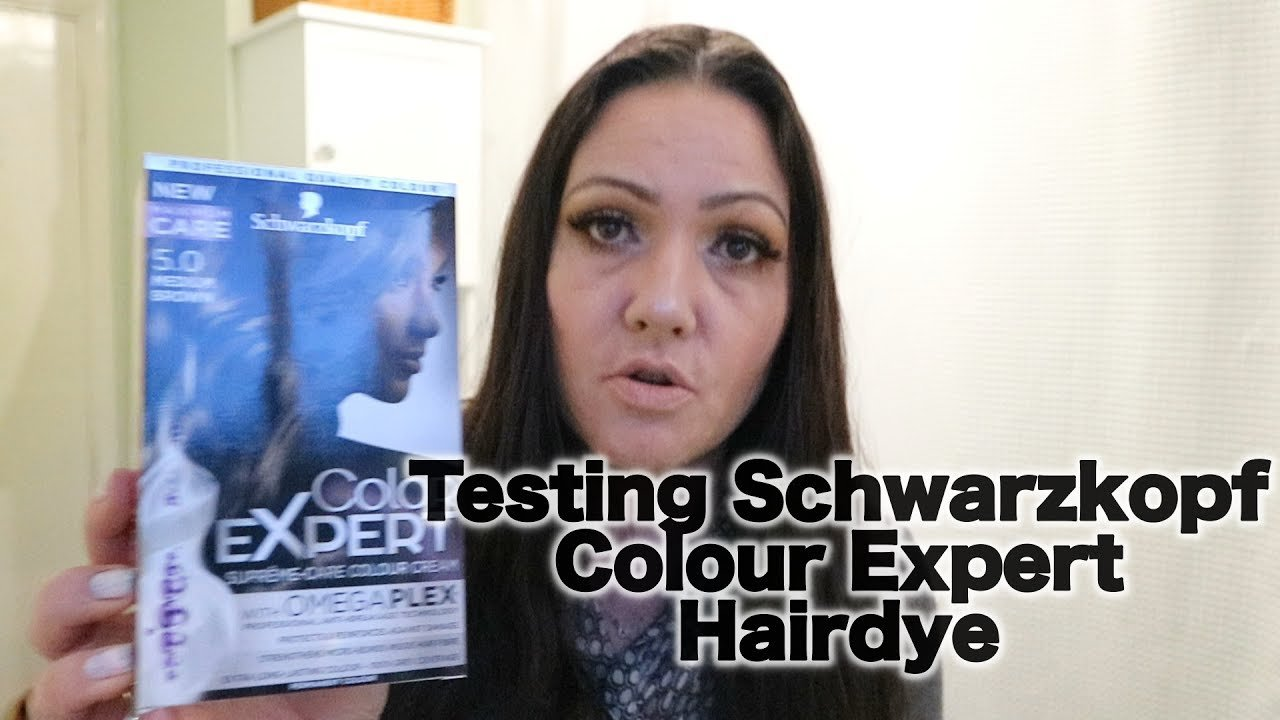 The Best Testing Hair Dye Schwarzkopf Colour Expert Youtube Pictures