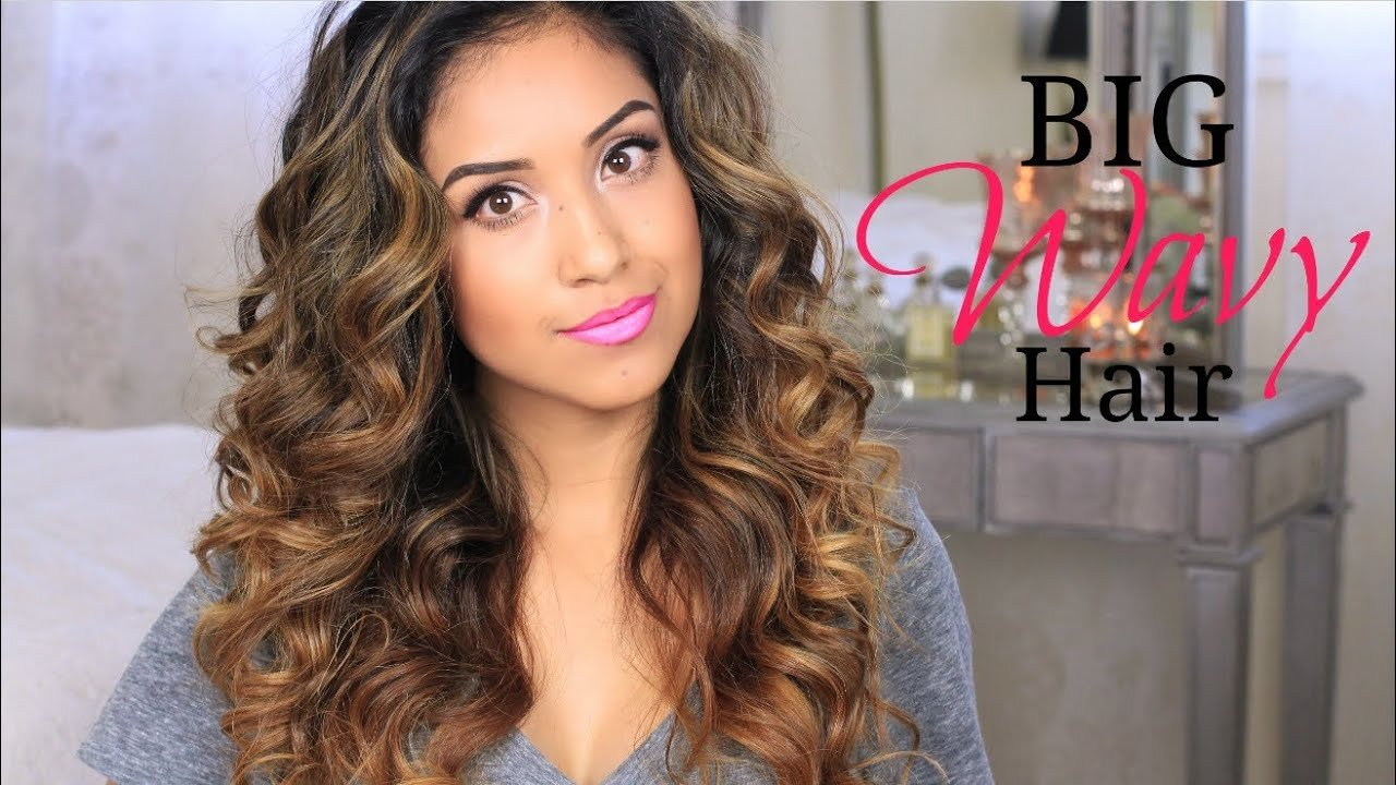 The Best Big Wavy Hair Tutorial Give A Way Youtube Pictures