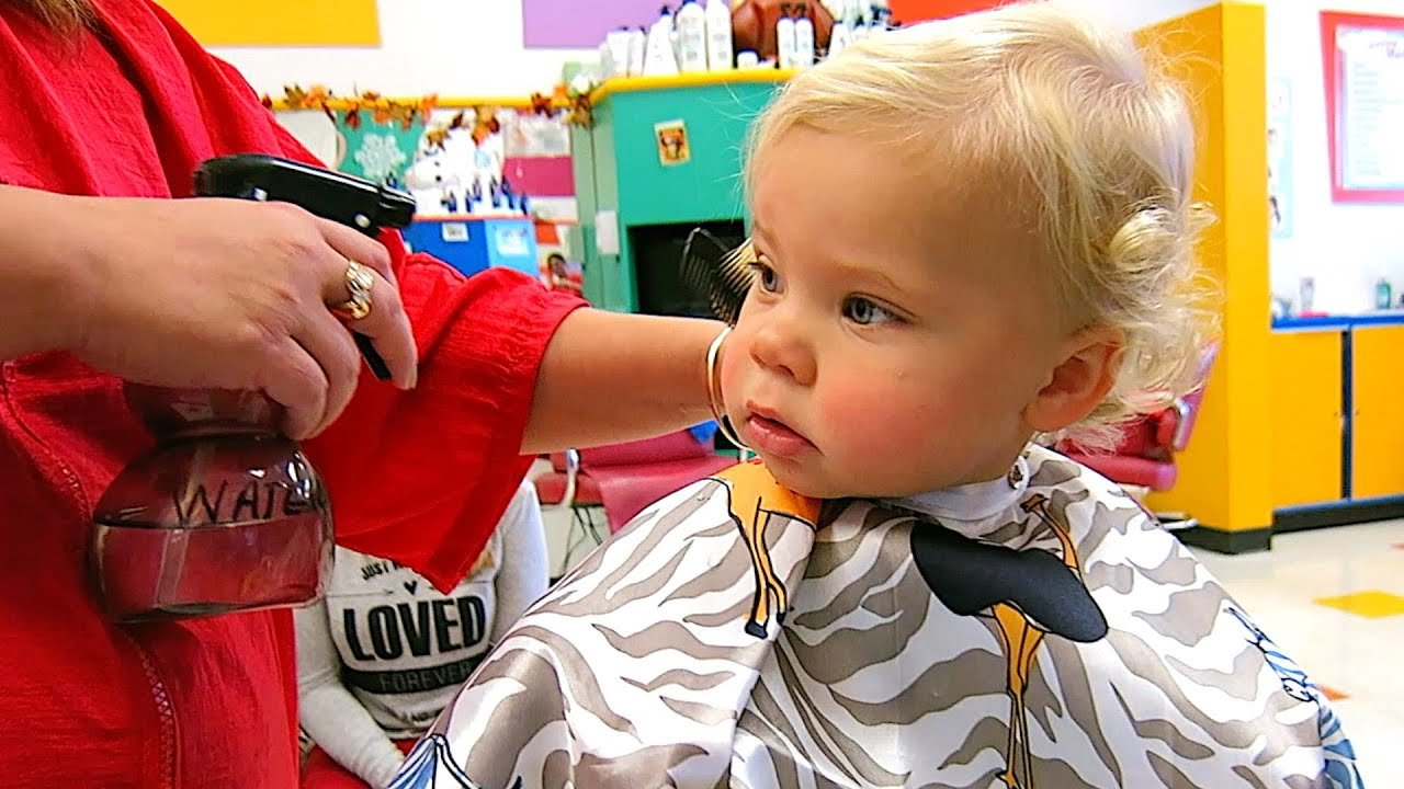 The Best Baby S First Haircut Youtube Pictures