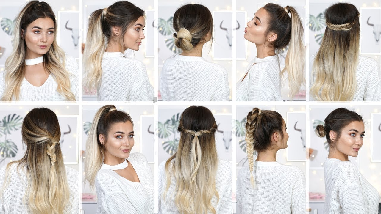 The Best 10 Easy Heatless Back To School Hairstyles Youtube Pictures