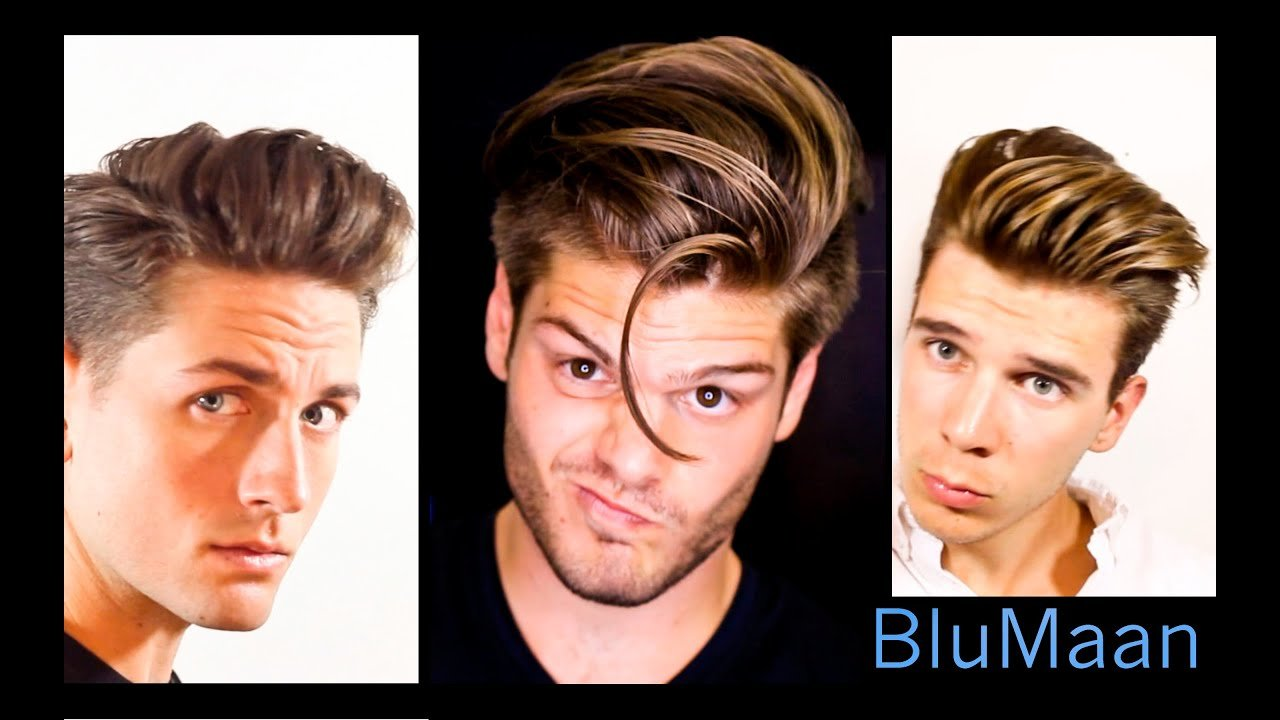 The Best Mens Hair 3 Different Hairstyles 3 Different Hair Types Pictures