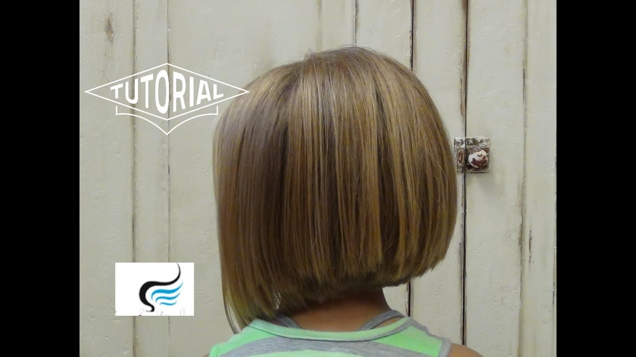 The Best Little Girl Bob Haircut Adorable A Line Hairstyles Youtube Pictures