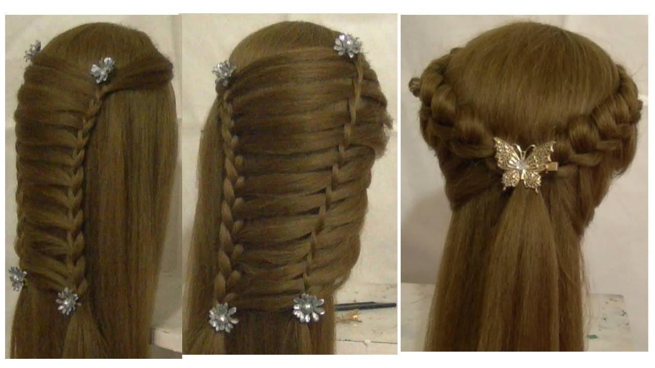 The Best Prom Hairstyles For Medium Long Hair Tutorial Side Pictures