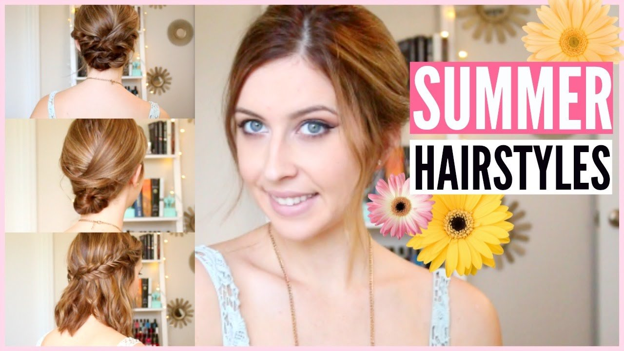 The Best Quick Easy Summer Hairstyles For Any Length Hair Pictures