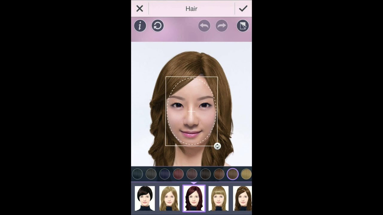 The Best Youcam Makeup Hair Style Feature Try Out A New Pictures