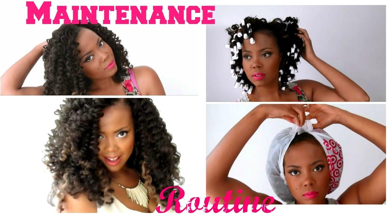 The Best How To Maintain Curly Luscious Crochet Braids W Pictures