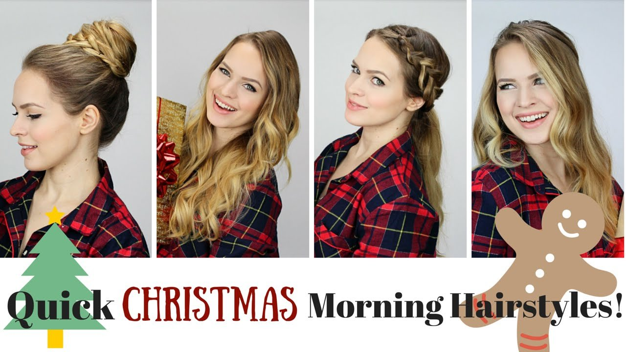 The Best 5 Quick And Easy Morning Hairstyles Youtube Pictures