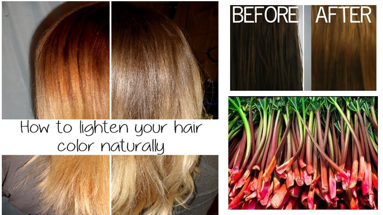 The Best How To Lighten Your Hair Color Naturally Safe Your Hair Pictures