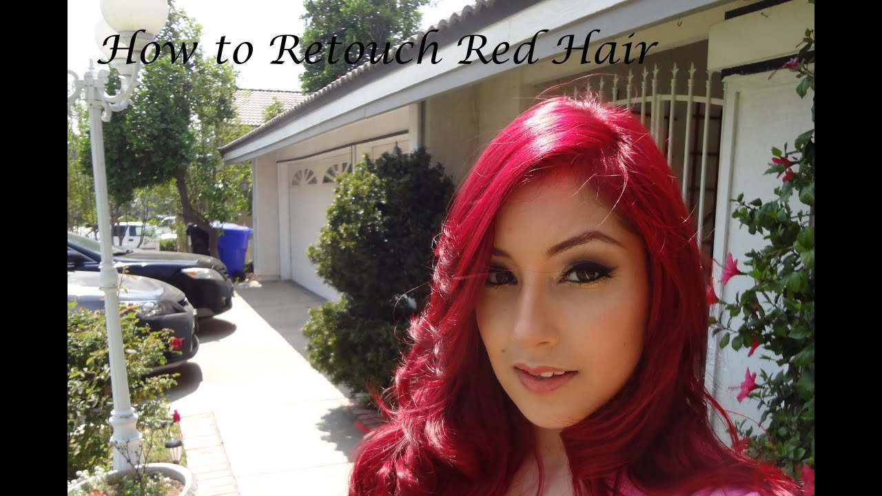 The Best Updated How To Retouch Red Hair Using Ion Color Pictures