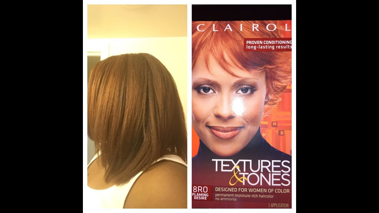 The Best Clairol Textures And Tones Hair Color System Review And Application Afo Textured Hair Youtube Pictures