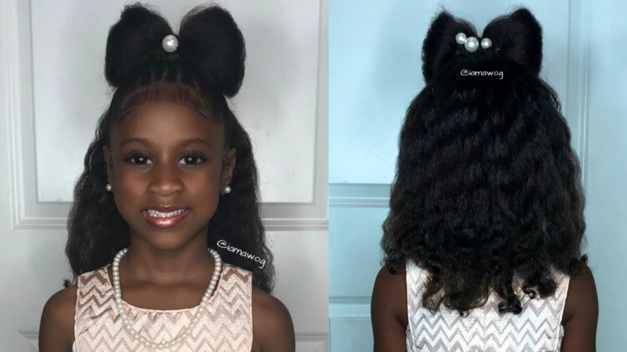 The Best The Bow Father Daugther Dance Kids Natural Hairstyle Pictures