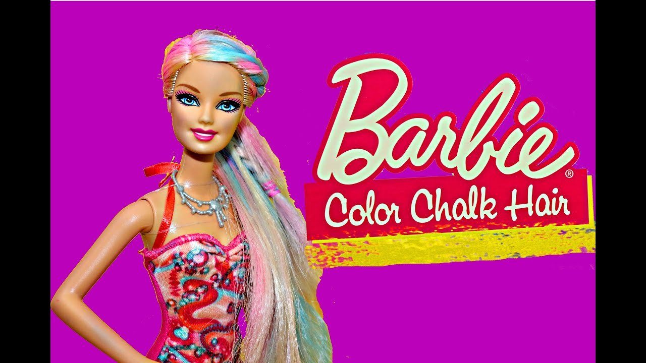The Best Barbie Hair Dye Color Changing Mattel Barbie Doll With Pictures