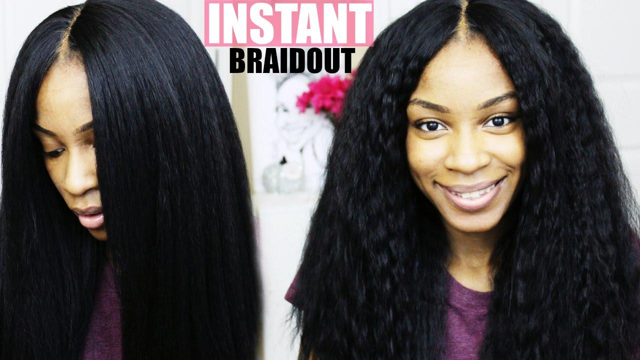 The Best How To Make Synthetic Hair Wavy Braid Out On K*Nky Pictures