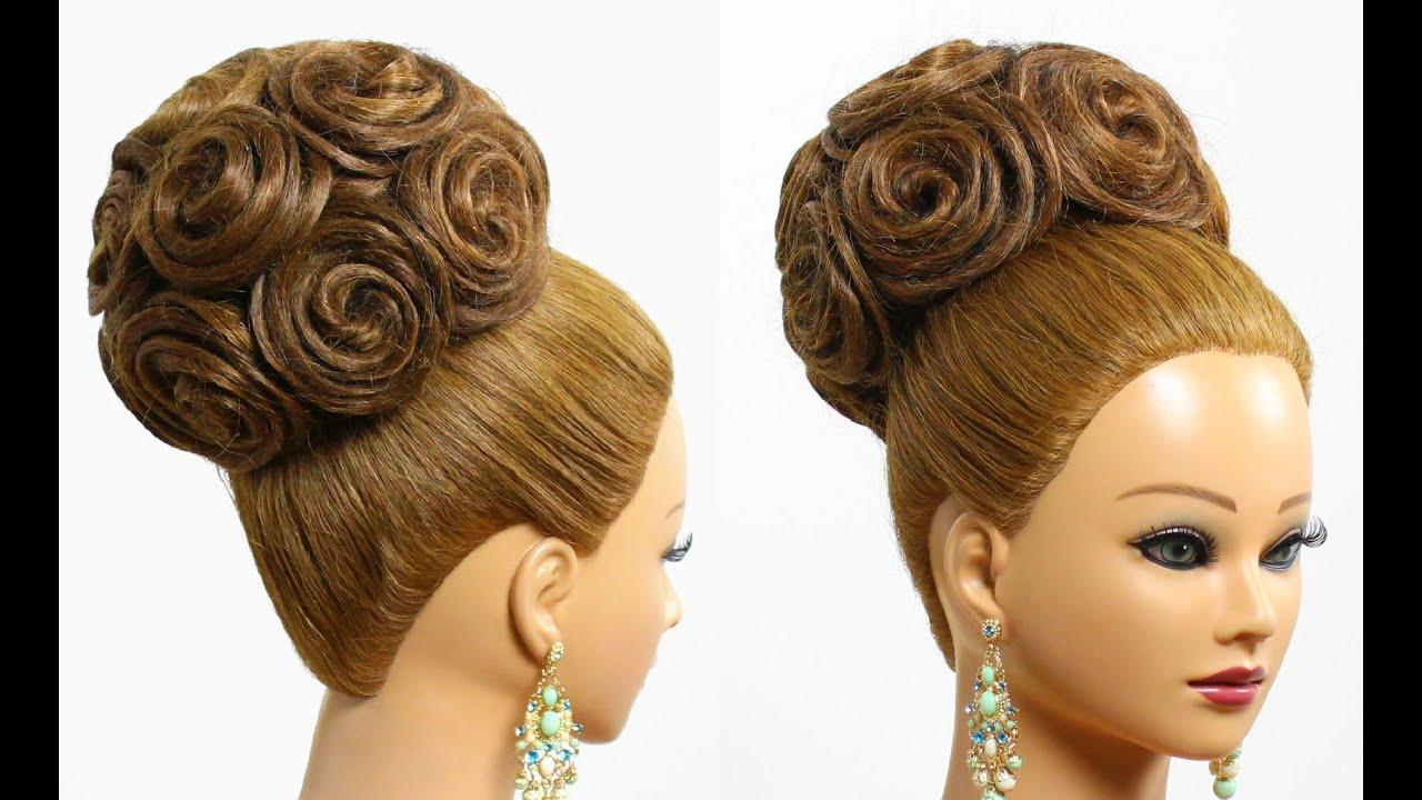 The Best Hairstyle For Long Hair Tutorial Bridal Updo With Pictures