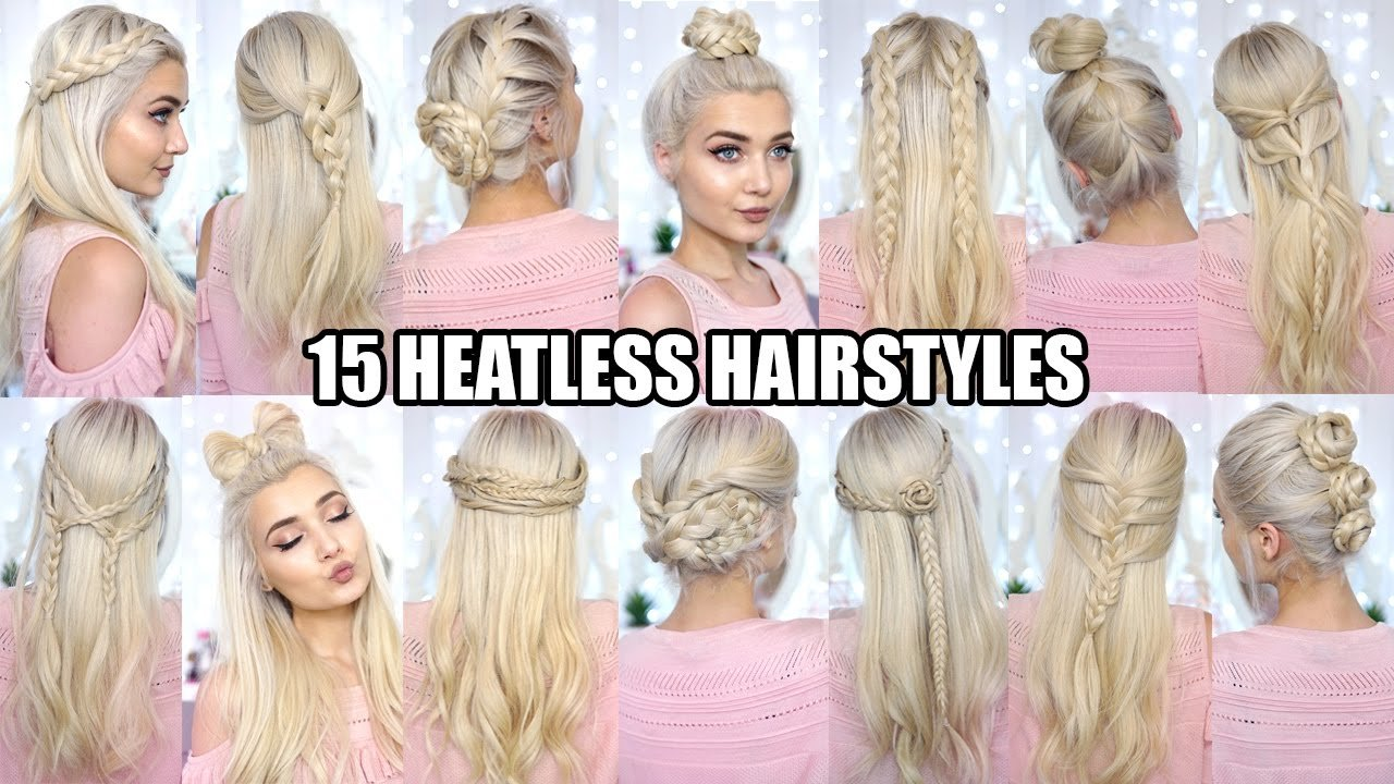 The Best 15 Braided Heatless Back To School Hairstyles Youtube Pictures