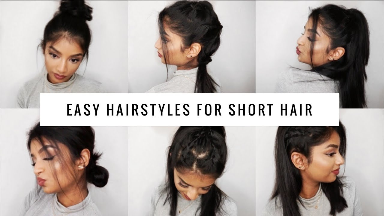 The Best Quick Easy Hairstyles For Short Medium Hair Long Bob Pictures