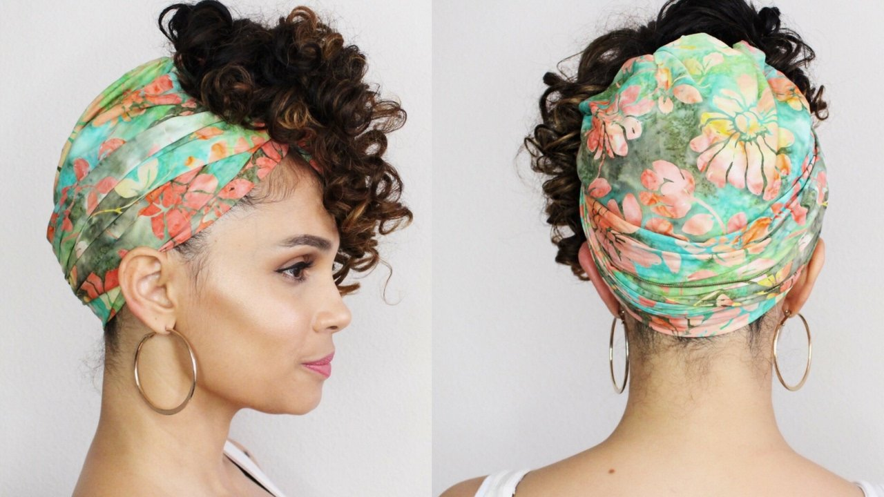The Best Natural Hair Head Wrap Style For Long Hair Youtube Pictures