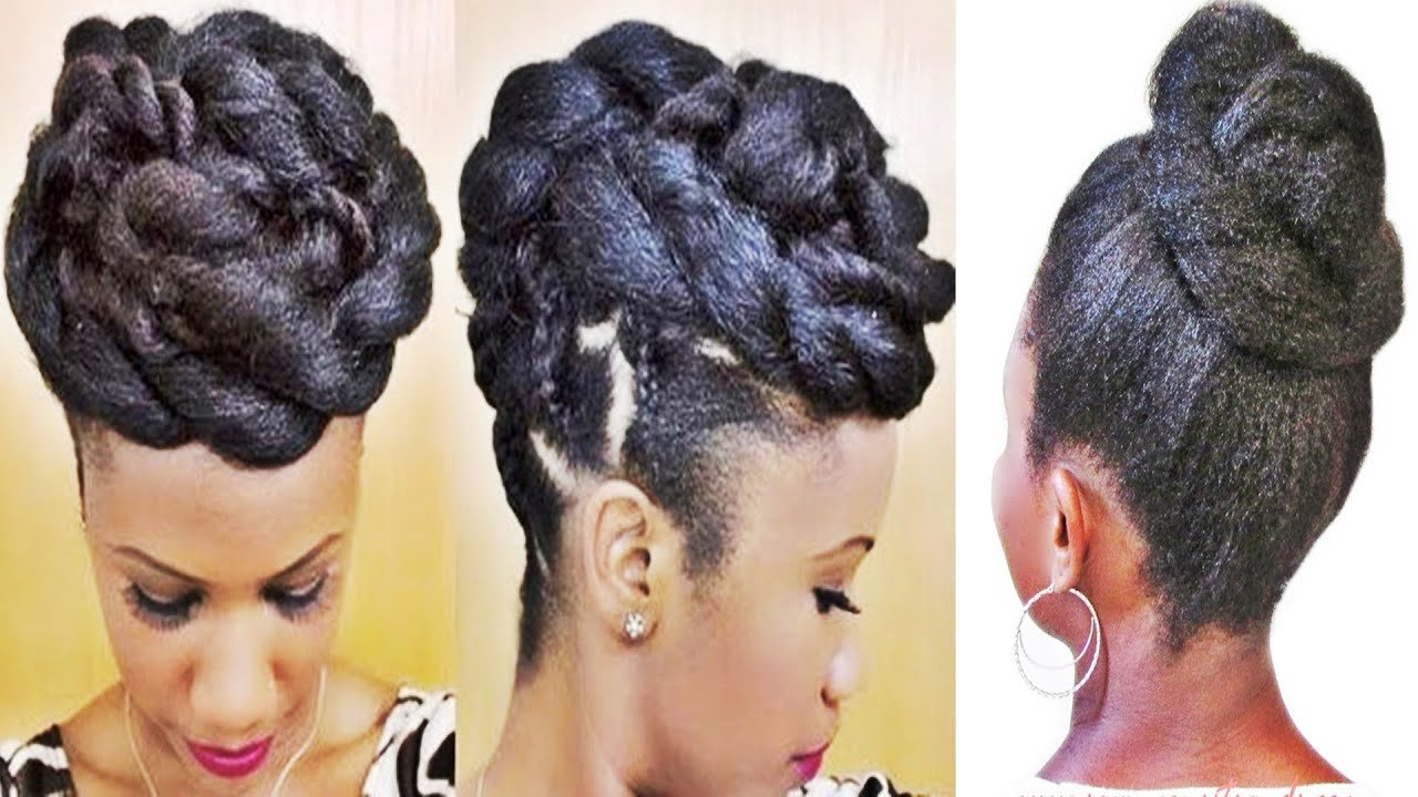 The Best Braids And Twists Updo Hairstyle For Black Women Youtube Pictures