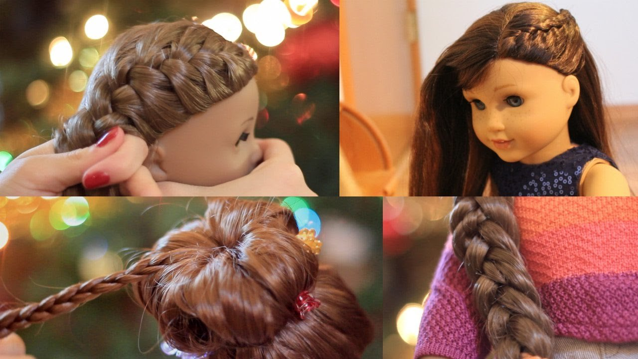 The Best American Girl Doll Holiday Hairstyles 2016 Youtube Pictures