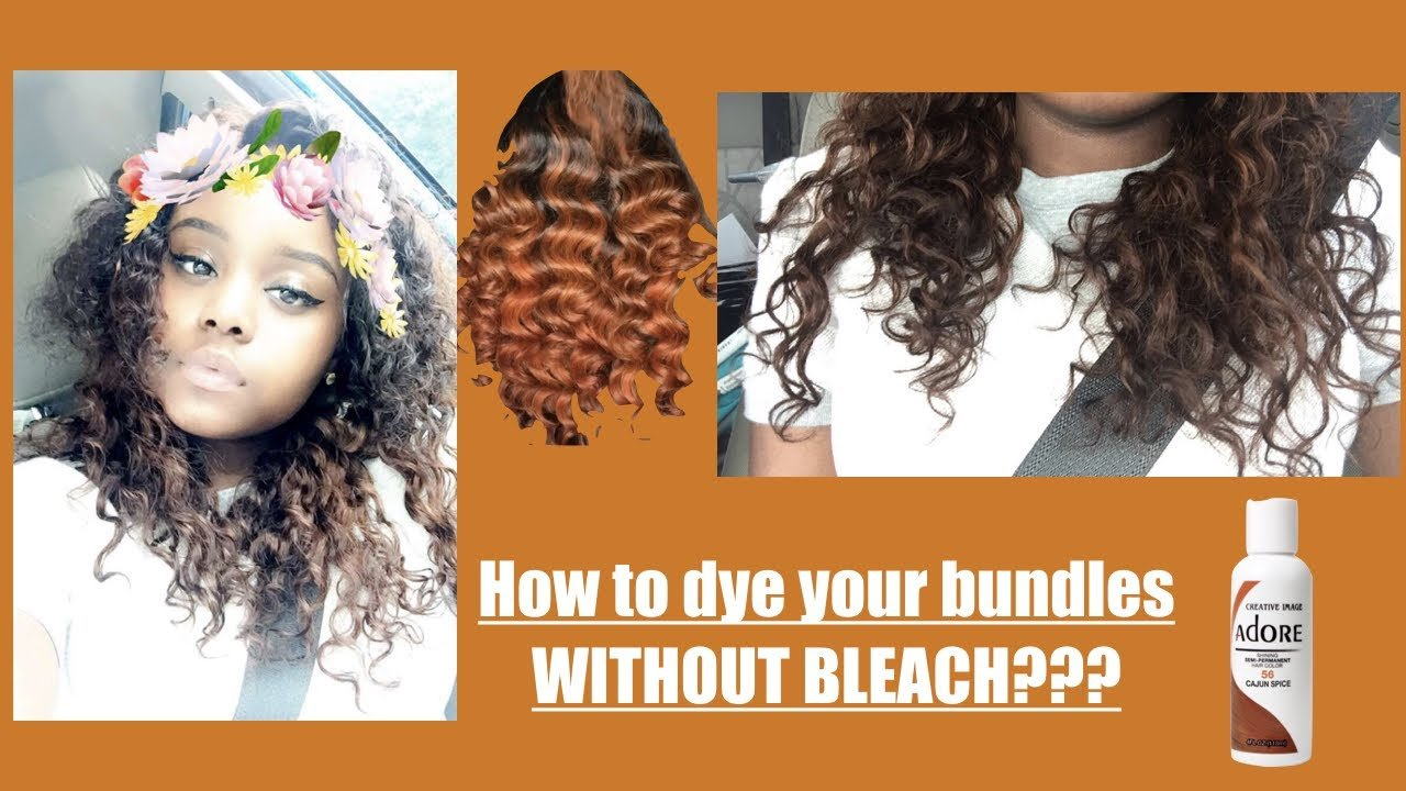 The Best How To Dye Hair Without Bleaching Adore Cajun Spice Pictures