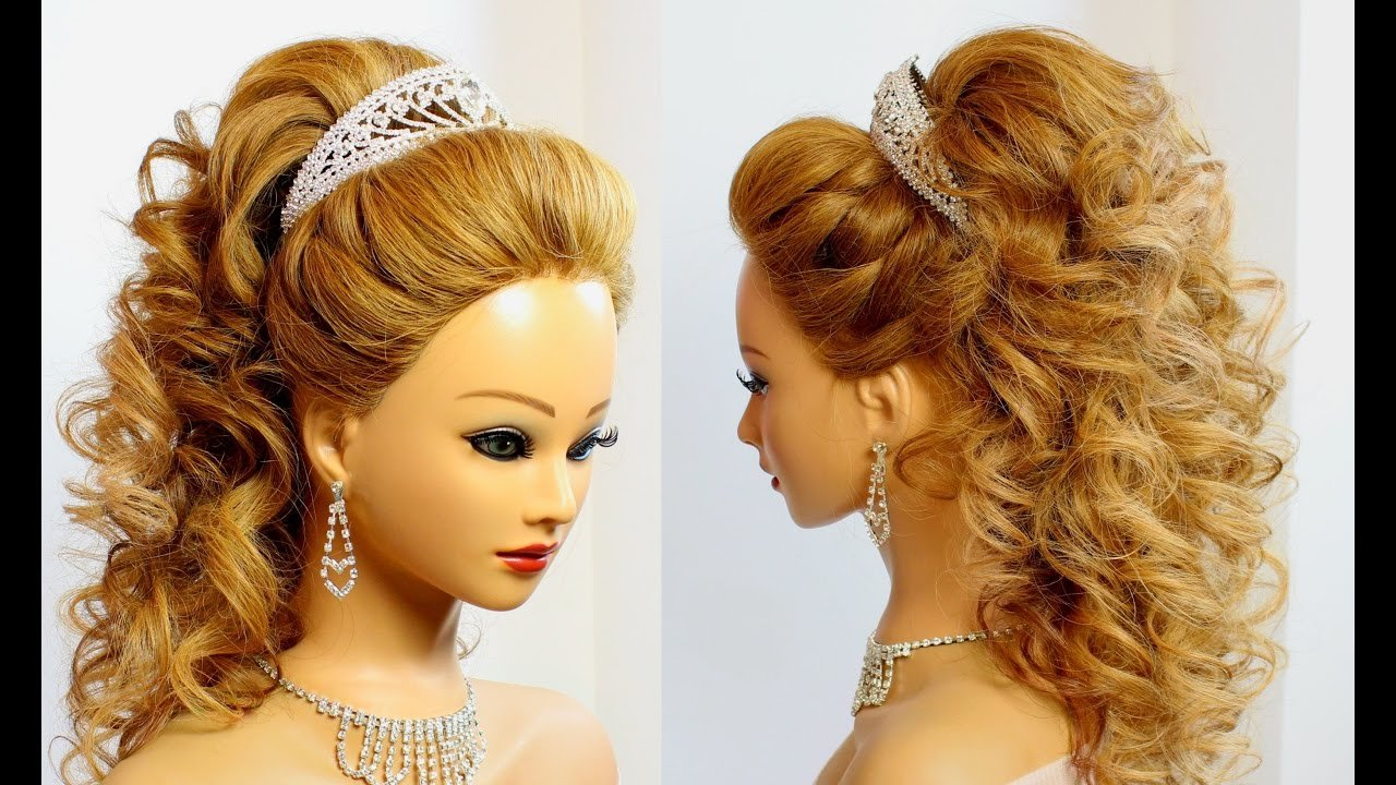 The Best Bridal Hairstyle For Long Hair Tutorial Youtube Pictures